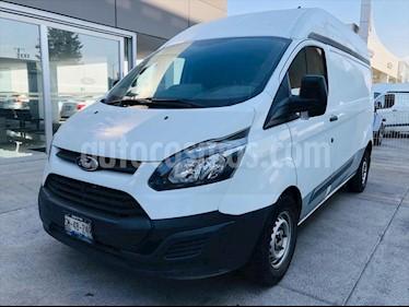 Ford Transit CUSTOM VAN CORTA L4/2.2/T DIESEL MAN A/A usado (2015) color Blanco precio $258,000