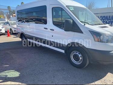 Ford Transit Gasolina Bus 15 Pasajeros usado (2015) color Blanco precio $330,000