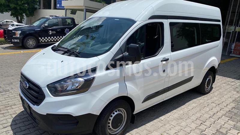 Ford Transit Gasolina Bus 15 Pasajeros usado (2019) color Blanco precio $579,000