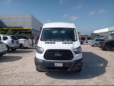Ford Transit PASAJEROS LARGA TECHO ALTO usado (2019) color Blanco Nieve precio $600,000