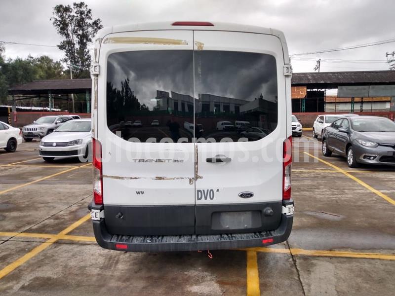 Ford Transit Diesel Bus 15 Pasajeros usado (2015) color Blanco precio $436,600