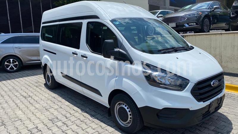 Ford Transit DIESEL VAN  usado (2020) color Blanco precio $579,000
