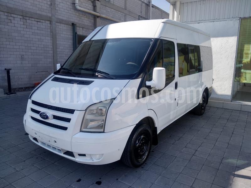Ford Transit Diesel Pasajeros usado (2012) color Blanco precio $190,000
