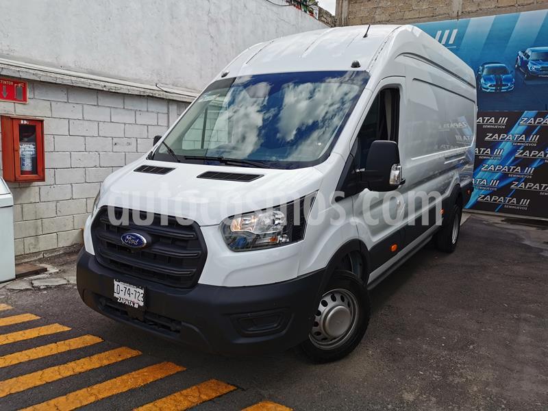 Ford Transit Diesel Van Jumbo usado (2020) color Blanco Nieve precio $640,000
