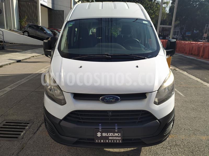 Ford Transit Gasolina 15 Pasajeros usado (2014) color Blanco precio $245,000