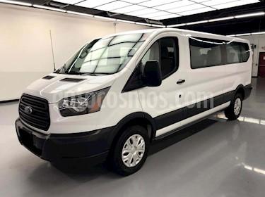 Ford Transit Gasolina Bus 15 Pasajeros usado (2016) color Blanco precio $225,000