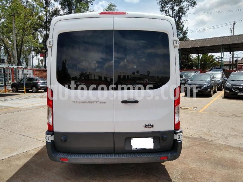 Ford Transit Gasolina Bus 15 Pasajeros usado (2015) color Blanco precio $286,500