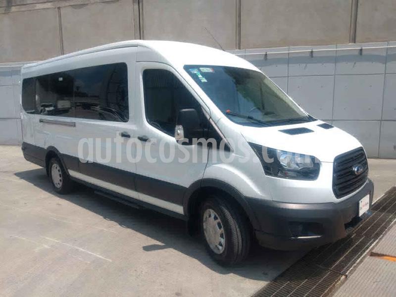 Ford Transit Diesel Bus 15 Pasajeros usado (2019) color Blanco precio $665,000