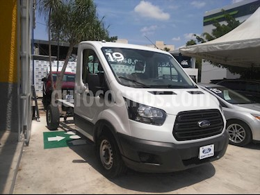 Ford Transit Diesel Chasis Cabina Mediana usado (2019) color Blanco precio $435,000