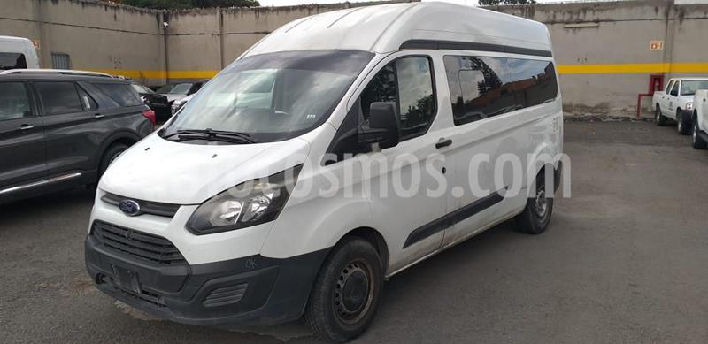 Ford Transit Diesel Chasis Cabina Mediana usado (2014) color Blanco precio $229,500