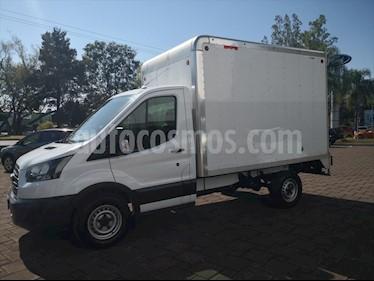 Ford Transit Diesel Chasis Cabina Mediana usado (2018) color Blanco precio $385,000