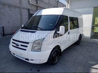 Ford Transit Diesel Pasajeros usado (2012) color Blanco precio $205,000