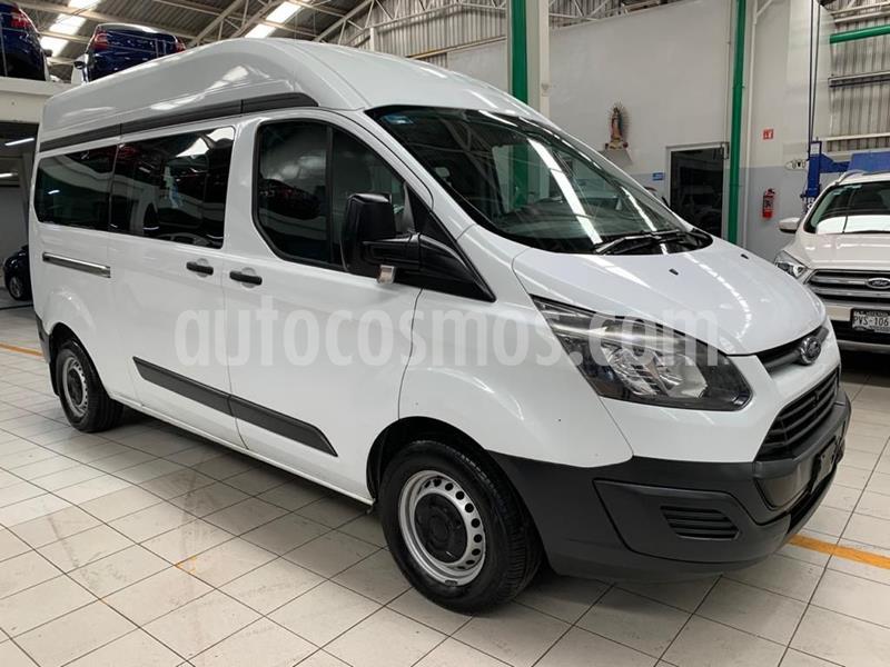 Ford Transit Gasolina 15 Pasajeros usado (2014) color Blanco precio $236,000