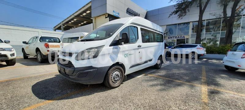 Ford Transit Gasolina 15 Pasajeros usado (2014) color Blanco precio $235,000