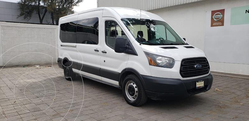 Ford Transit Diesel Bus 15 Pasajeros usado (2015) color Blanco precio $310,000