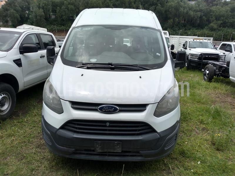 Ford Transit Gasolina 15 Pasajeros usado (2014) color Blanco precio $210,000