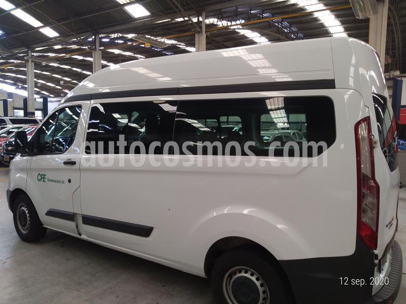 Ford Transit Gasolina Bus 15 Pasajeros usado (2015) color Blanco precio $233,000