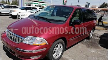 Ford Windstar 4p SE tela usado (2003) color Rojo precio $110,000