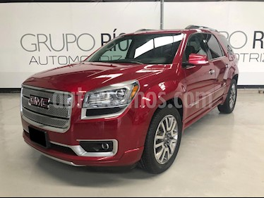 Foto venta Auto usado GMC Acadia Denali  (2013) color Rojo precio $298,000