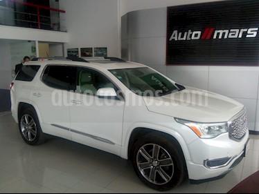 Foto venta Auto usado GMC Acadia Denali (2017) color Blanco precio $510,000