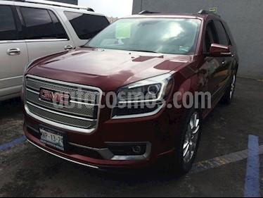 Foto venta Auto Seminuevo GMC Acadia Denali (2015) color Rojo precio $420,000