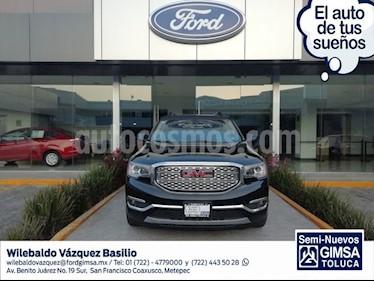 Foto venta Auto usado GMC Acadia Denali (2018) color Negro precio $549,000