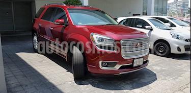 Foto venta Auto usado GMC Acadia Denali (2015) color Rojo precio $390,000