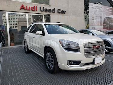 Foto venta Auto usado GMC Acadia Denali (2014) color Blanco precio $359,000