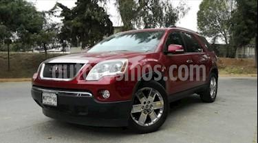GMC Acadia 5P TA 7 Y 8 PAS. PIEL QC RA-20 CROM. 4X4 usado (2011) color Rojo precio $199,000