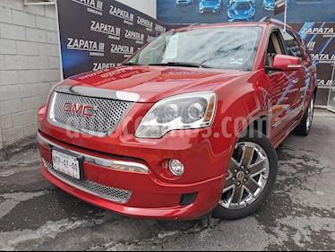 GMC Acadia Denali usado (2012) color Rojo Obscuro precio $205,000
