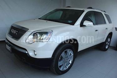 GMC Acadia C 5p aut 7 pas q/c 4x4 piel usado (2011) color Blanco precio $209,000