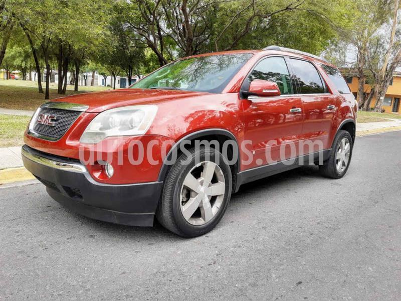 GMC Acadia Paq. B (275Hp) usado (2010) color Rojo precio $165,000