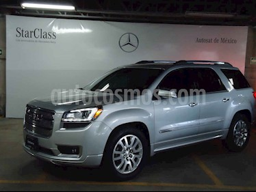GMC Acadia 5p Denali V6/3.6 Aut usado (2016) color Plata precio $429,000