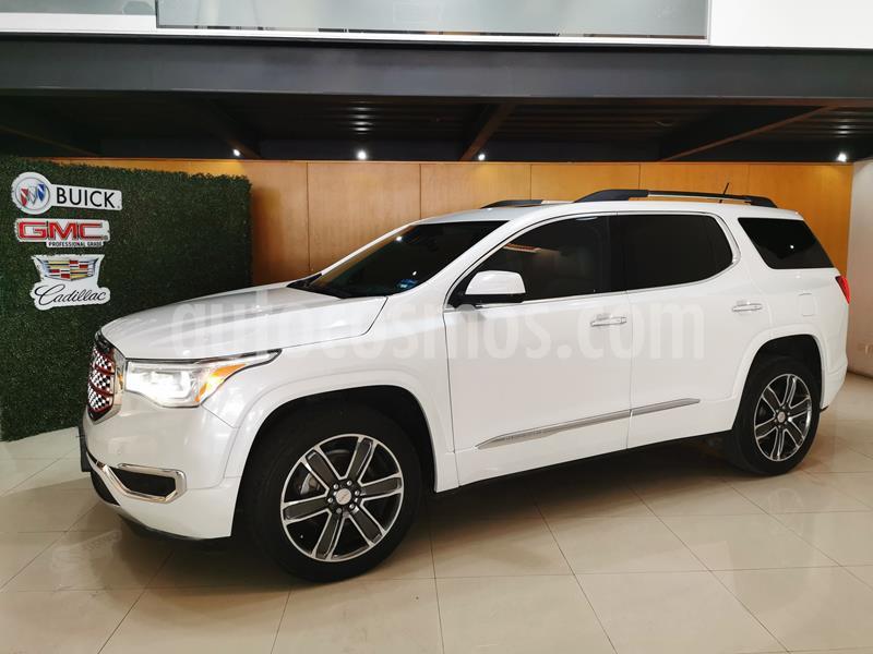 GMC Acadia Denali usado (2017) color Blanco precio $435,000