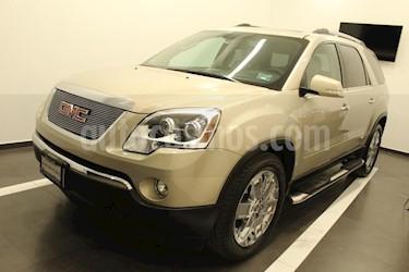 Foto venta Auto usado GMC Acadia Paq. B (2011) color Dorado precio $219,000