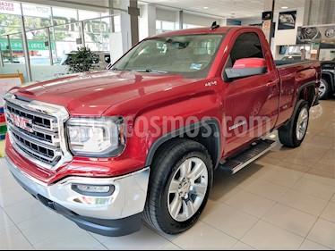 Foto venta Auto usado GMC Sierra Cabina Regular SLE 4x4  (2018) color Rojo precio $639,000