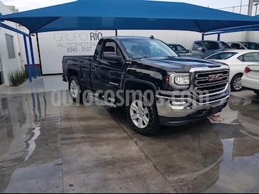 Foto venta Auto usado GMC Sierra Cabina Regular SLE 4x4 (2016) color Negro precio $495,000