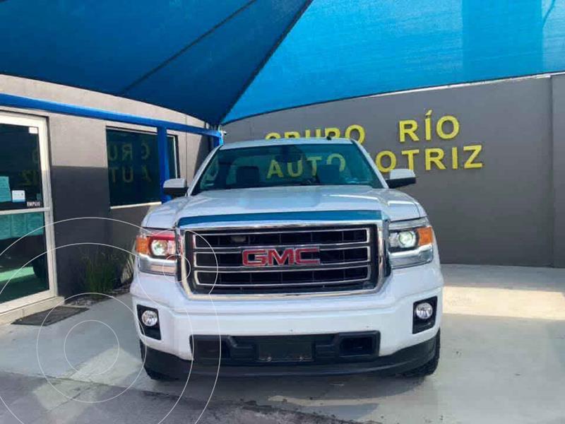 GMC Sierra Cabina Regular SLE 4x4  usado (2015) color Blanco precio $479,000
