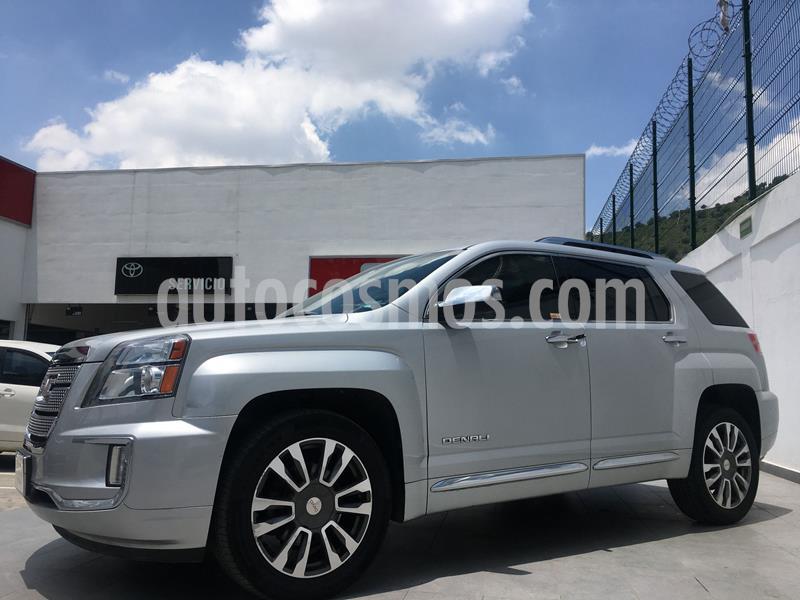 GMC Terrain Denali  usado (2017) color Plata Dorado precio $350,000