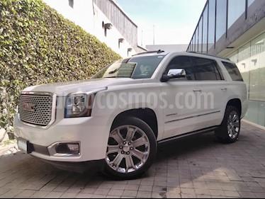 Foto venta Auto usado GMC Yukon 5p Denali V8/6.2 Aut Q/C (2016) color Blanco precio $690,000