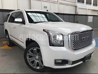 Foto venta Auto usado GMC Yukon 5p Denali V8/6.2 Aut Q/C (2016) color Blanco precio $730,000