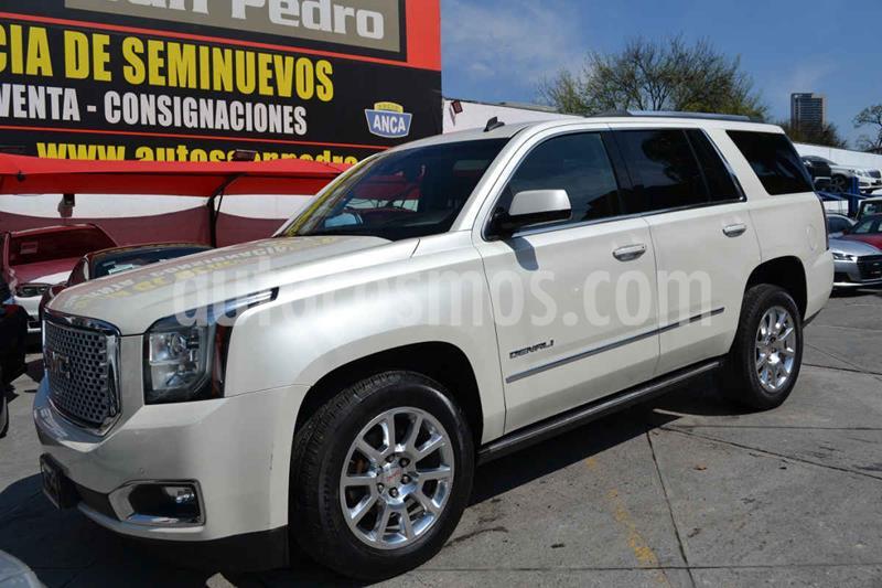 GMC Yukon Denali AWD usado (2015) color Blanco precio $539,000