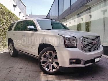 GMC Yukon 5P DENALI V8/6.2 AUT Q/C usado (2016) color Blanco precio $610,000