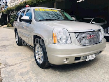 GMC Yukon Denali AWD usado (2008) color Cafe precio $219,000