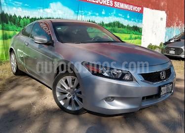 Foto venta Auto Seminuevo Honda Accord 2p EX Coupe v6 Aut (2009) color Plata precio $138,000