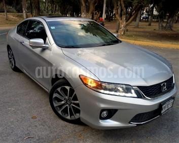 Foto venta Auto usado Honda Accord 2p EX Coupe V6/3.5 Aut (2013) color Plata precio $245,000
