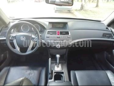 Foto venta Auto usado Honda Accord 4p EX / EXL Sedan V6/3.5 Aut (2012) color Plata precio $182,000