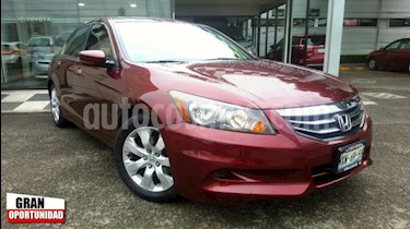 Honda Accord 4p EX Sedan L4/2.4 Aut usado (2012) color Rojo precio $160,000