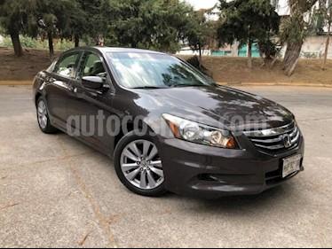 Foto venta Auto usado Honda Accord 4p EX Sedan L4/2.4 Aut (2011) color Plata precio $172,500