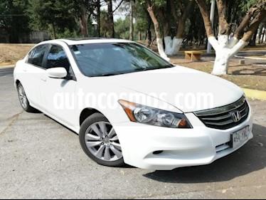 foto Honda Accord 4p EX Sedan L4/2.4 Aut usado (2012) color Blanco precio $145,000